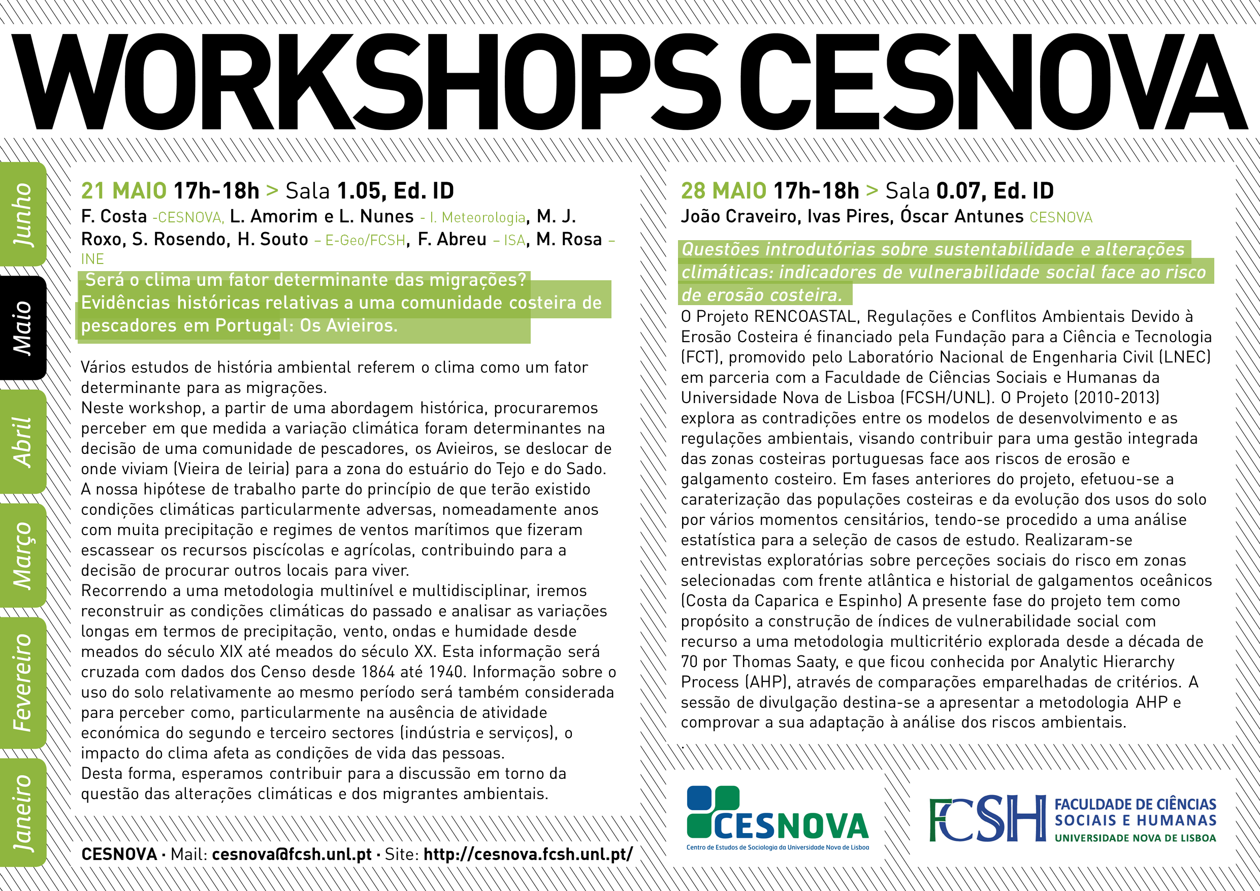 Workshops CesNova