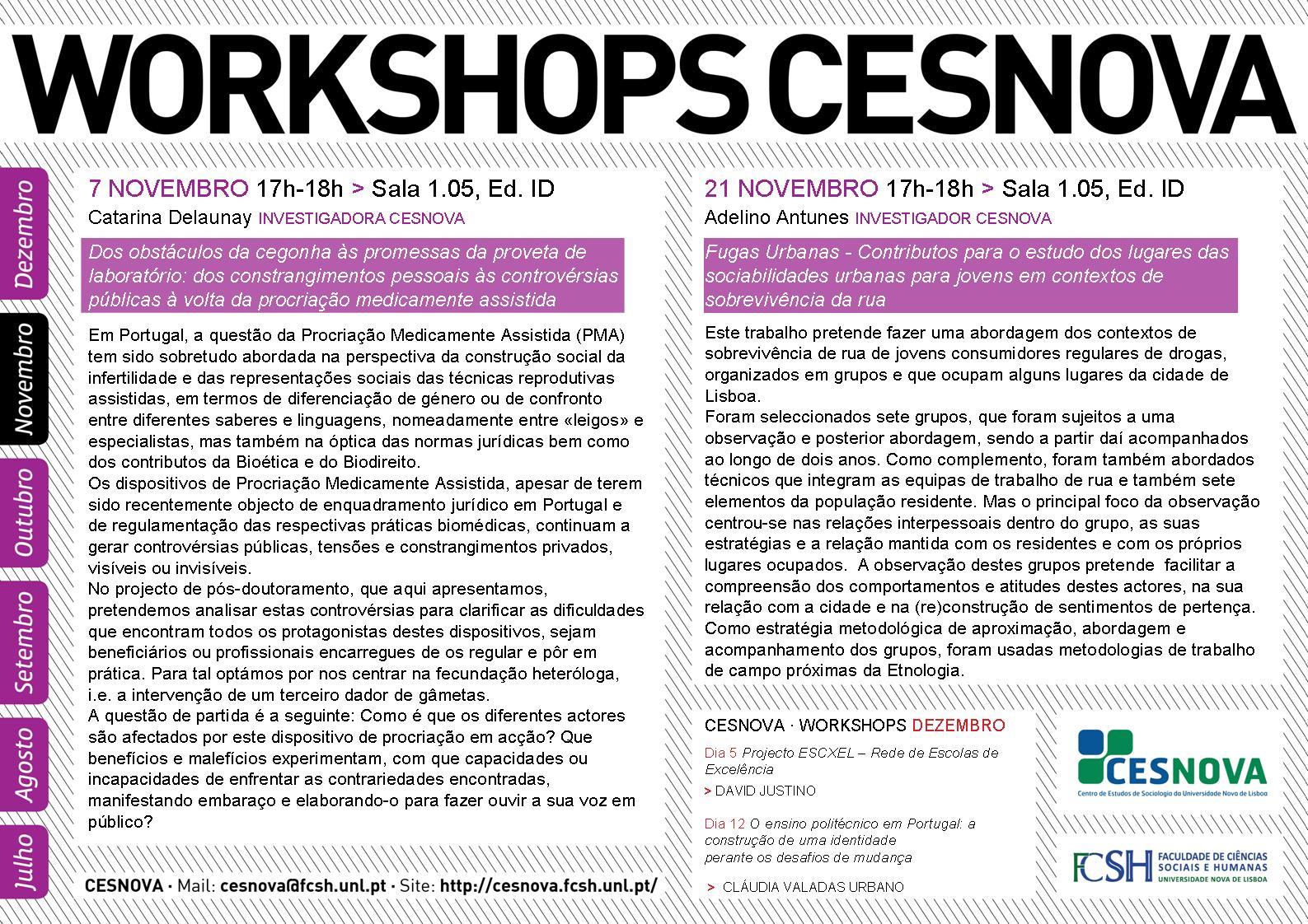 Workshop CesNova