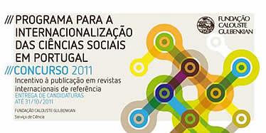 Banner Programa para a Internacionalização das Ciências Sociais em Portugal