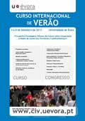 II Curso de verão e  II Congresso da Escola de Verão da ECS da Universidade de Évora