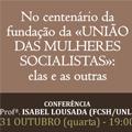CESNOVA participa em conferência sobre mulheres socialistas